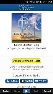 Kinship Christian Radio- screenshot thumbnail