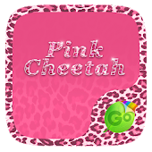 Pink Cheetah GO Keyboard Theme