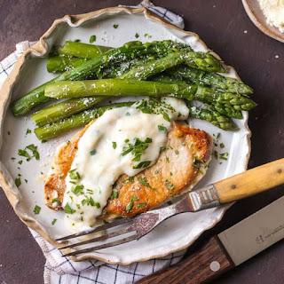 Creamy Garlic Parmesan Pork Chops Recipe