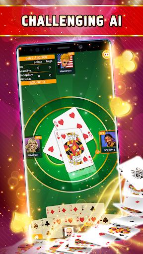 Spades Offline - Single Player apktreat screenshots 2