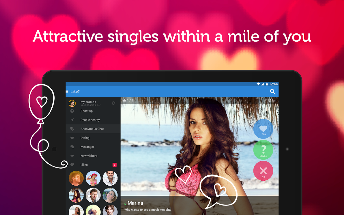 Amolatina app for dating chat