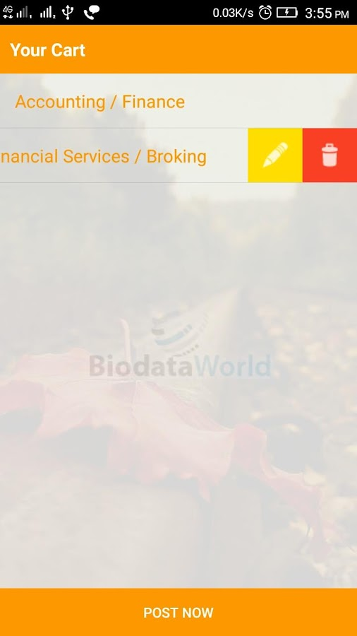 BiodataWorld- screenshot
