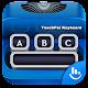 Blue Typewriter Keyboard Theme Android apk