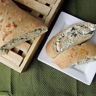 Chicken Spinach Alfredo Whole Wheat Calzone
