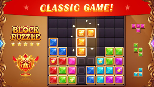 Block Puzzle: Diamond Star Blast 1.8 screenshots 1