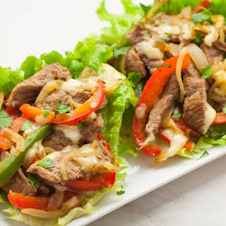 Low-Carb Philly Cheesesteaks.