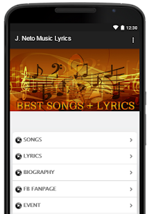 J. Neto Music Lyrics - náhled