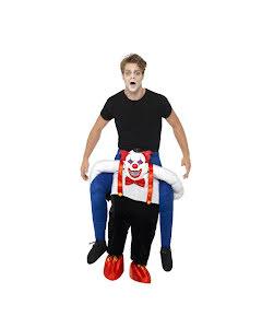 Piggyback, clown