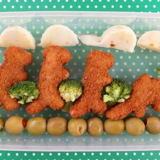 Dinosaur Themed School Lunch