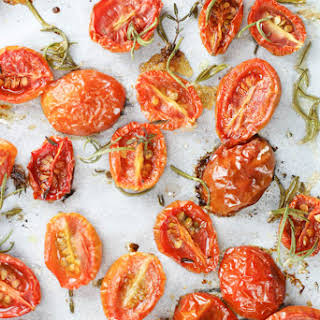 Roasting Tomatoes at Home.