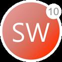 Simple White Pro - Theme & Iconpack icon