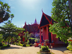 Photo: The quite informative National Museum of Cambodia.