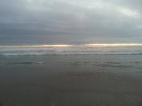 Photo: Sunset at Maitencillo, Chile