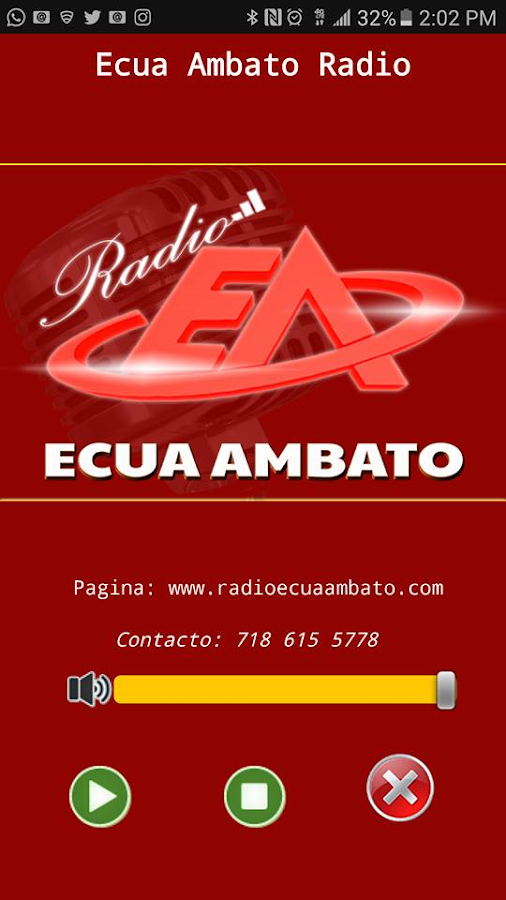Ecua Ambato Radio- screenshot