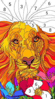 Happy Color – 数字で塗り絵。数字で色ぬりえのおすすめ画像3