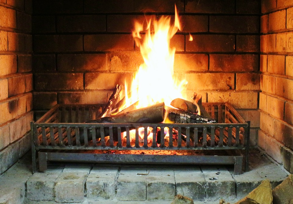 Fireplace, Fire, Burn, Warm, Log, Open Fire