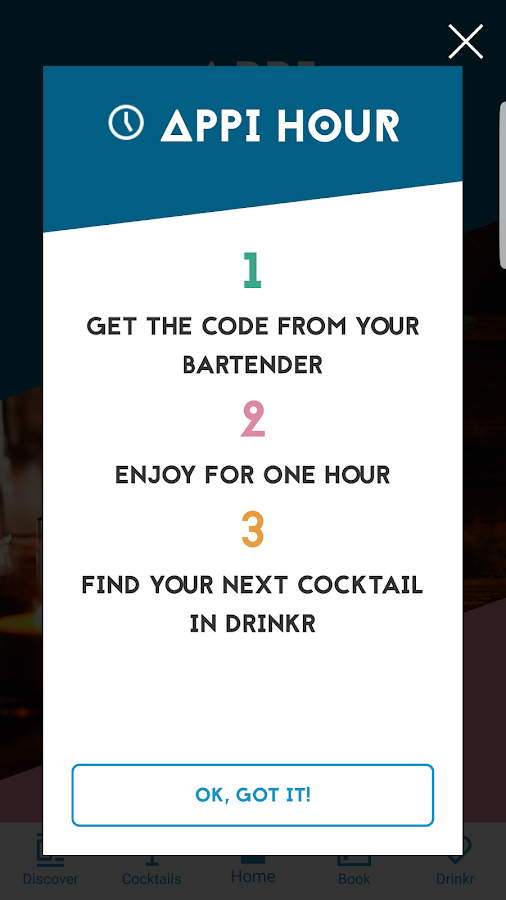 Be At One Cocktail Bars- screenshot