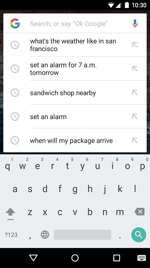 Google – Screenshot