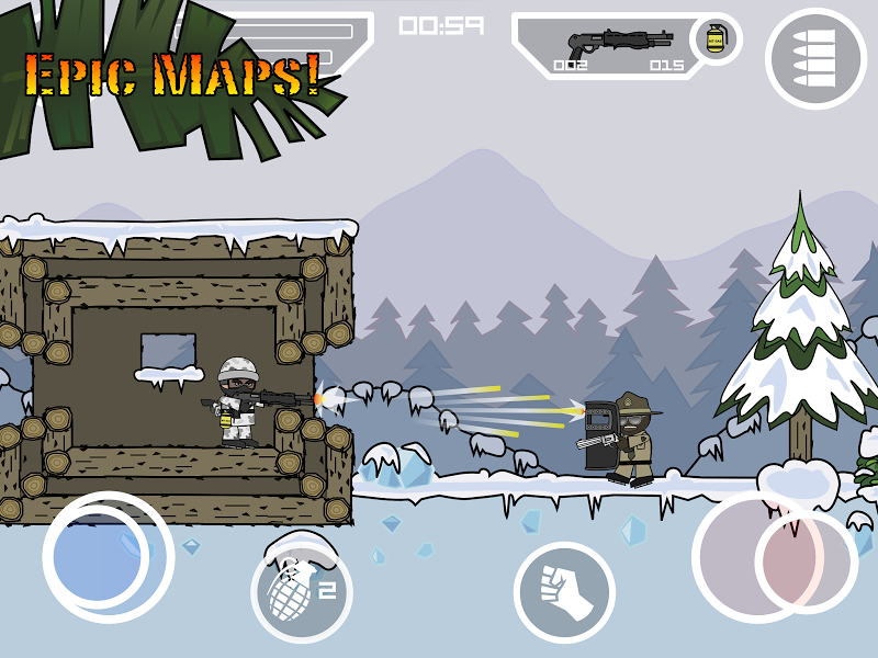 Mini Militia - Doodle Army 2 Screenshot 13