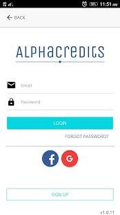 Alpha Credits - náhled