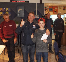 Photo: 2e plaats B poule Kevein en Sammy Hoogerheide