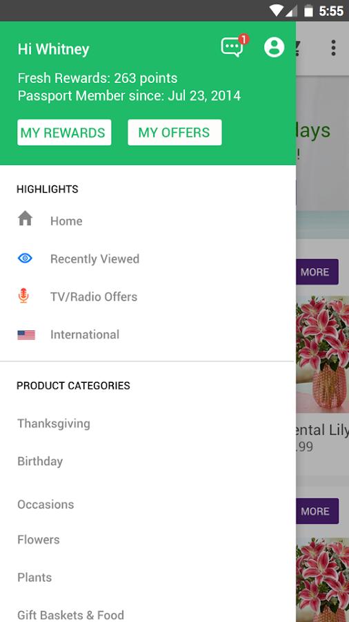 1-800-FLOWERS - Flowers, gifts- screenshot