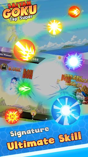 Saiyan Goku Tap Super Z  screenshots 3