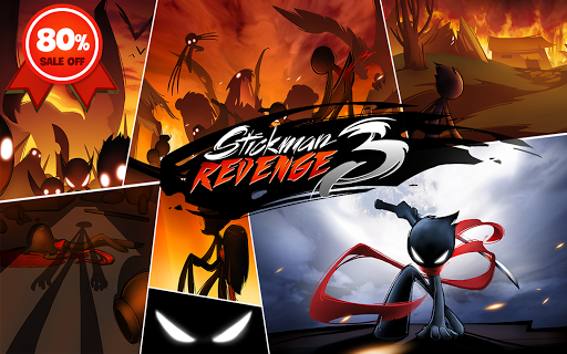 Stickman Revenge 3: League of Heroes  23