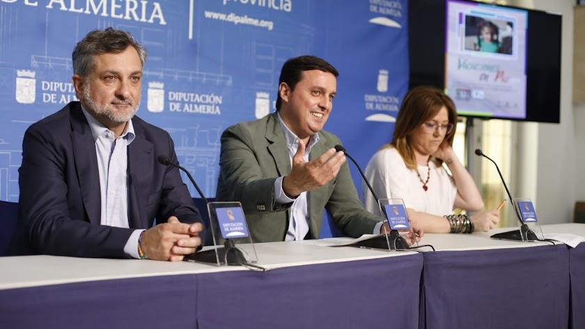Presentación del programa 'Vacaciones en Paz 2019' en Diputación.