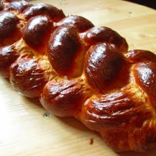 Hungarian Braided Sweet Bread.