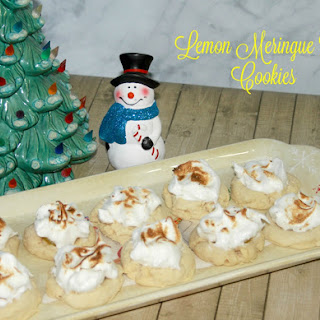 Lemon Meringue Pie Cookies.