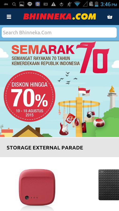 Bhinneka.Com- screenshot