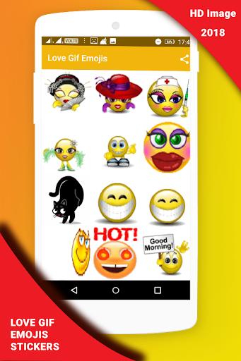 Love Gif Emoji Stickers 1.0.3 screenshots 9