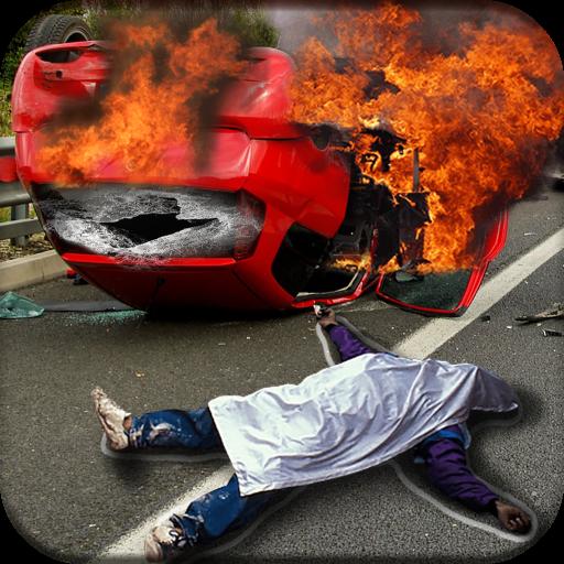 Accident Photo Editor Icon