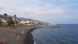 Playa de Villaricos, uno de los atractivos para los turistas en Cuevas.
