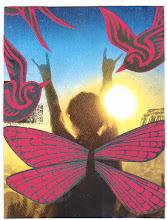 Photo: Wenchkin's Mail Art 366 - Day 192 - Card 192a