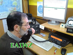 Photo: Josema EA1WZ llamando CQ CQ EANET Sprint Contest