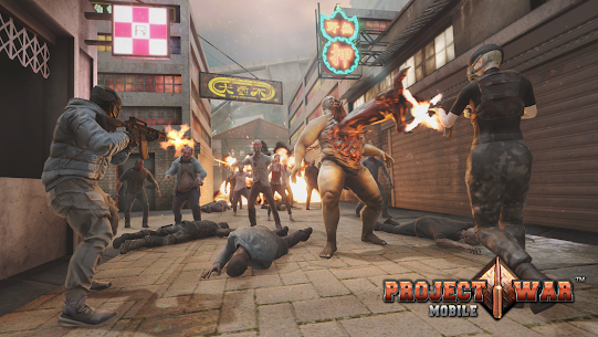 Project War Mobile – online shooting game Apk Download For Android and Iphone 8