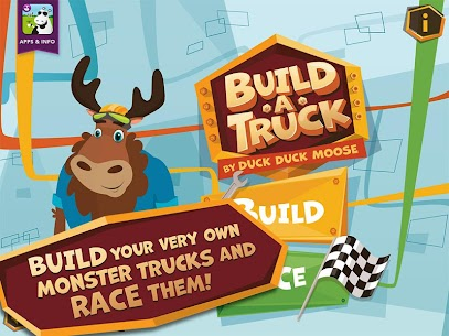 Build A Truck -Duck Duck Moose 1.2 Android Mod + APK + Data 1