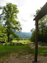 Photo: view from John Oliver cabin