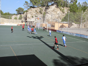 Photo: 13/04/14 v Olimpic de Felanitx (Tercera Regional de las Islas Baleares played at Camp Municipal Ses Eres - home of Club Deportivo Serverense) 1-0 - contributed by Peter Collins