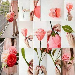 Seni Membuat Bunga Kertas - náhled