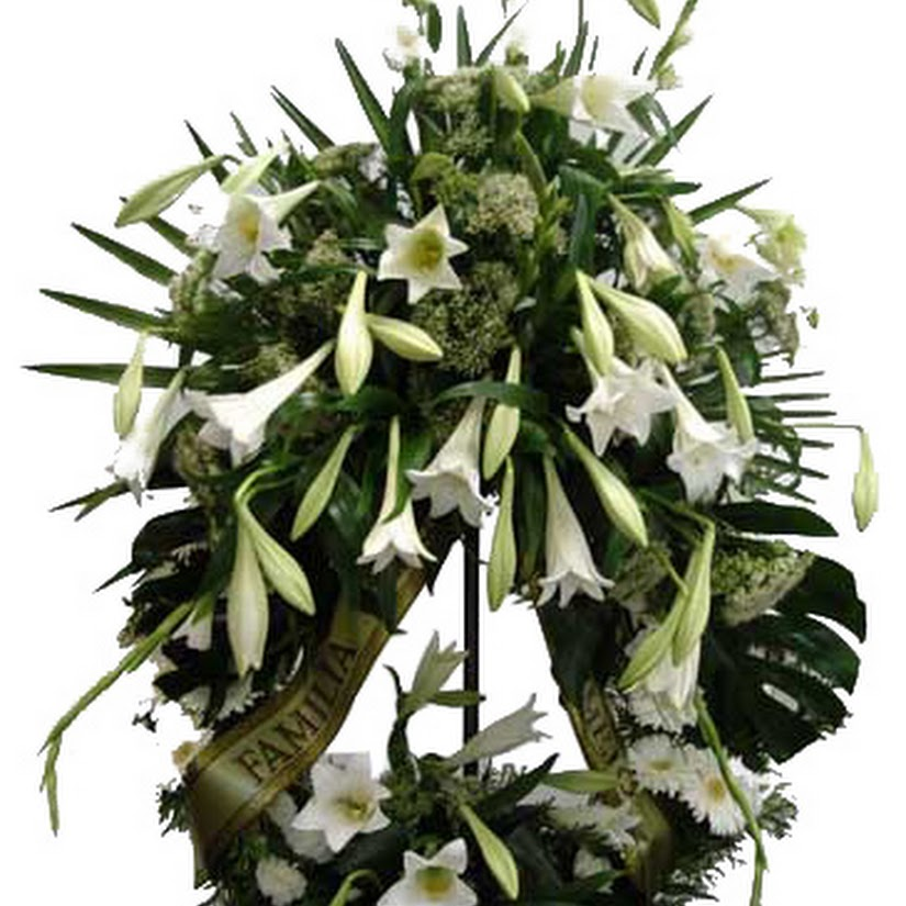 arreglo funerario - corona