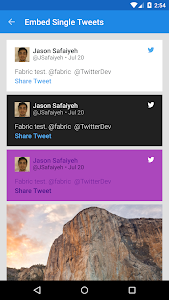 Fabric Example screenshot 1