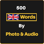 English Words by Photo & Audio