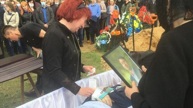Похороны Витольда Ашурка