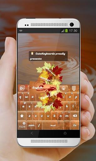 Autumn painting GO Keyboard