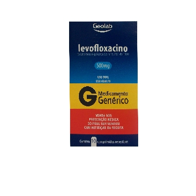 levofloxacina levofloxacino 500mg 10comprimidos geolab