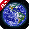 Live Earth Map 2020 -Satellite & Street View Map icon