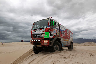 Photo: MOTORSPORT - DAKAR PERU CHILE ARGENTINA  2013 - STAGE 11 / ETAPE 11 - LA RIOJA (ARG) TO FIAMBALA (ARG) - 16/01/2013 - PHOTO : FRANCOIS FLAMAND / DPPI - .